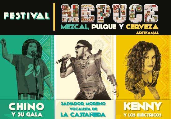 Festival MEPUCE - Mezcal, Pulque y Cerveza