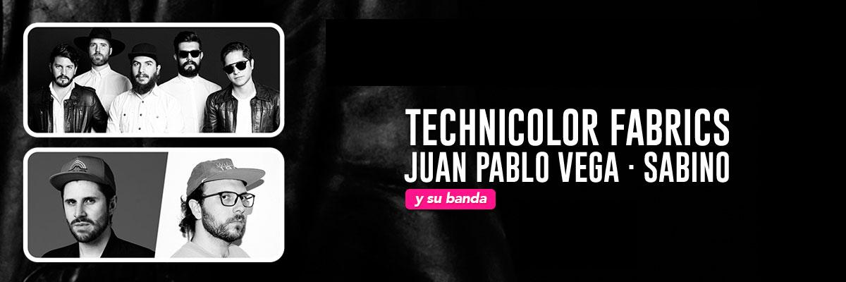 TECHNICOLOR FABRICS Y JUAN PABLO VEGA