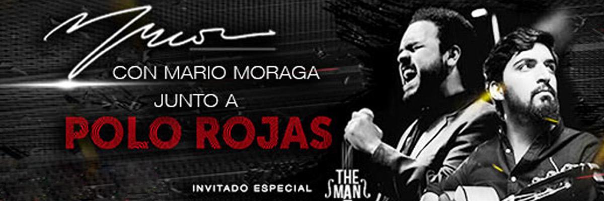 POLO ROJAS CON MARIO MORAGA