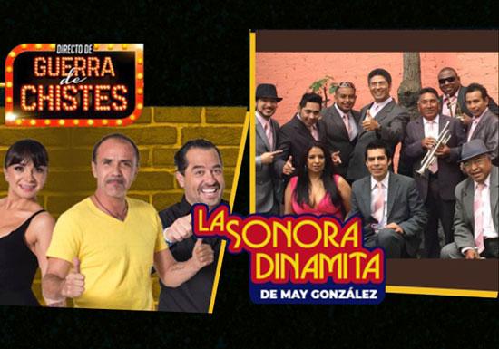 DIRECTO DE GUERRA DE CHISTES Y LA SONORA DINAMITA