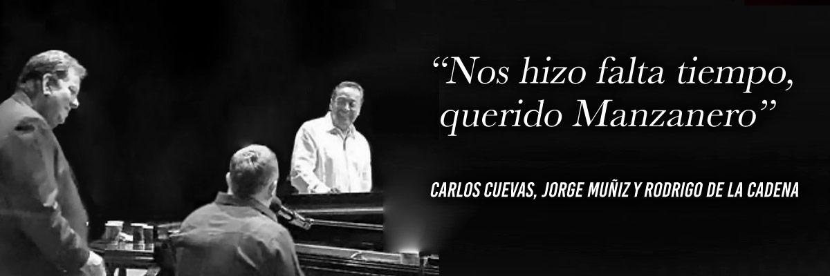 CARLOS CUEVAS & JORGE MUÑIZ & RODRIGO DE LA CADENA