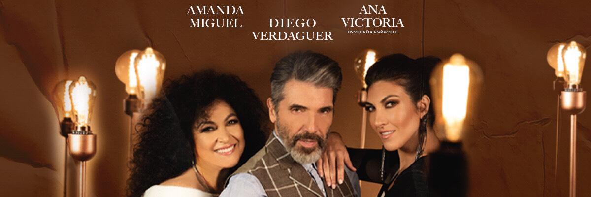 AMANDA MIGUEL, DIEGO VERDAGUER Y ANA VICTORIA