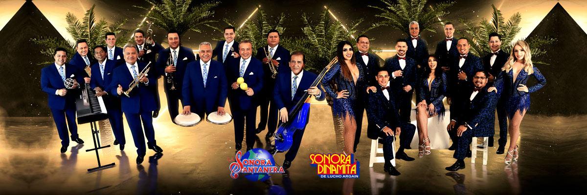 LA SONORA SANTANERA Y SONORA DINAMITA DE LUCHO ARGAIN