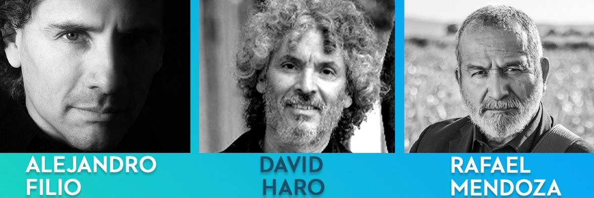 ALEJANDRO FILIO, DAVID HARO, RAFAEL MENDOZA