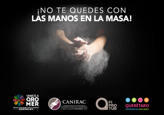 VAMOS A QROMER Festival Gastronómico Orgullosamente Querétaro