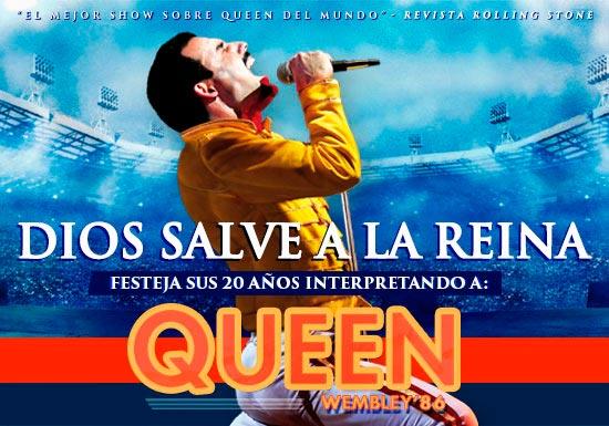 Dios Salve a la Reina Wembley 86