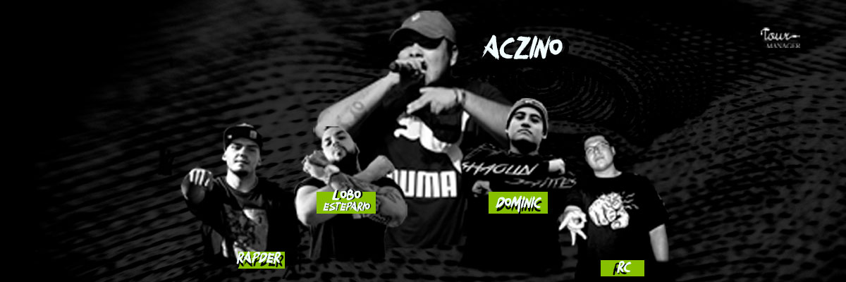 Aczino, Lobo Estepario, Dominic, Rapder, RC.