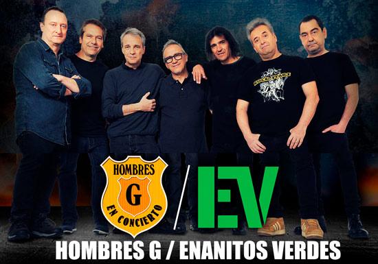 HOMBRES G Y ENANITOS VERDES