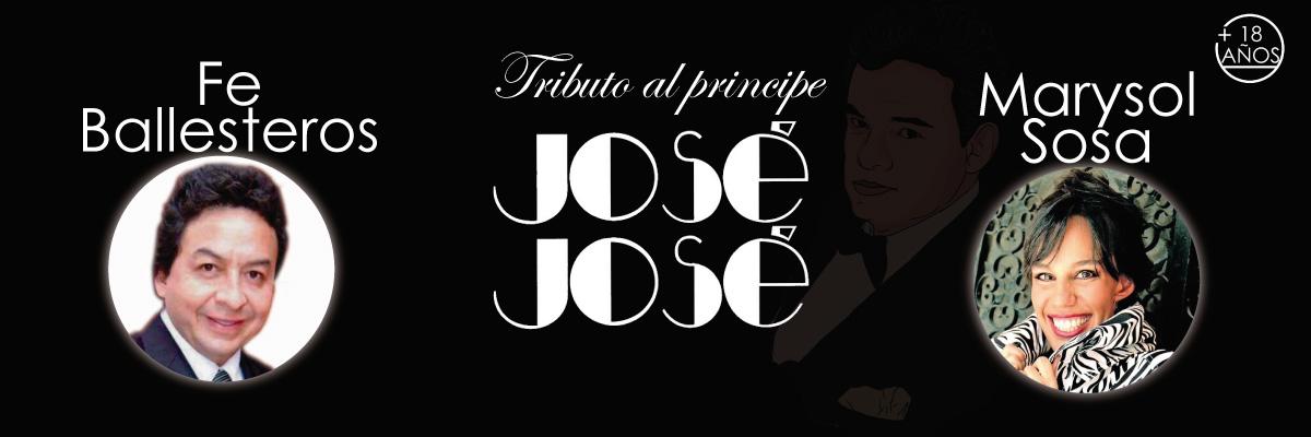TRIBUTO AL PRÍNCIPE JOSÉ JOSÉ