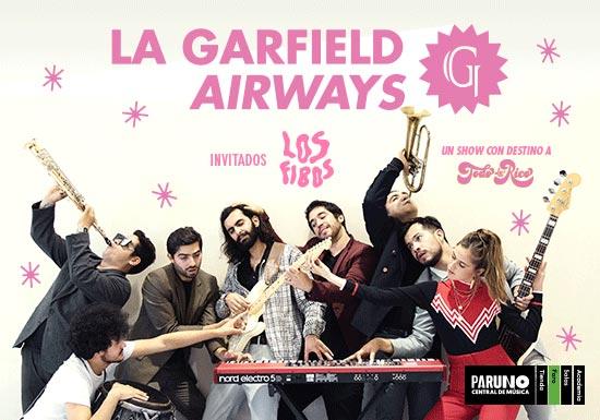 LA GARFIELD + LOS FIBOS