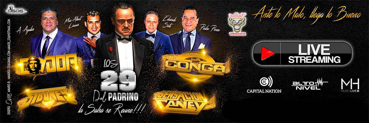 SONIDO CONDOR , SONIDO LA CONGA, SONIDO SIBONEY Y SENSACION CANEY