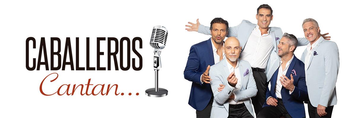 CABALLEROS CANTAN. A. ARANA, CHAO, LISARDO, M. LANDETA Y R. CRESPO