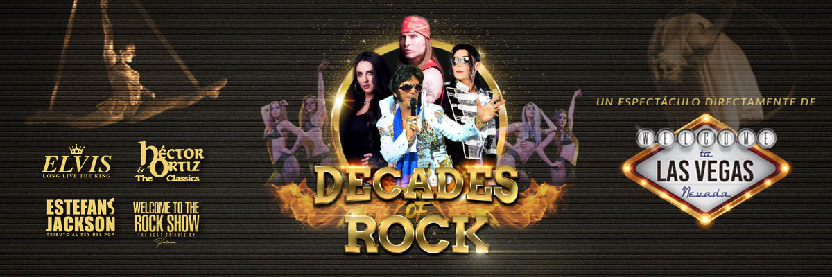 DECADES OF ROCK