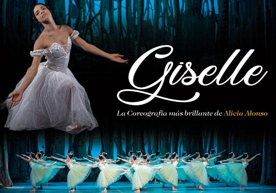 BALLET NACIONAL DE CUBA GISELLE CON ORQUESTA SINFONICA DE LA BUAP