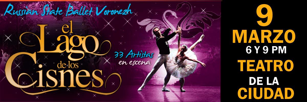 EL LAGO DE LOS CISNES - BALLET RUSO DE VORONEZH
