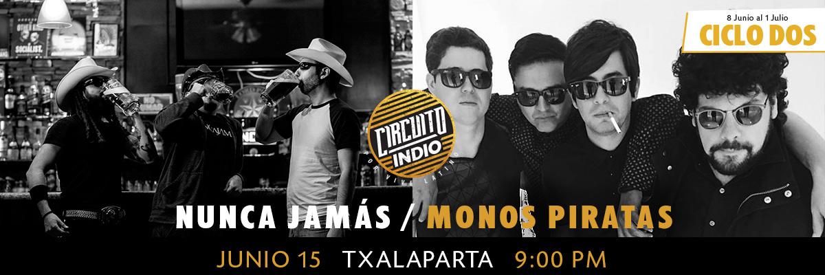 NUNCA JAMAS / MONOS PIRATAS
