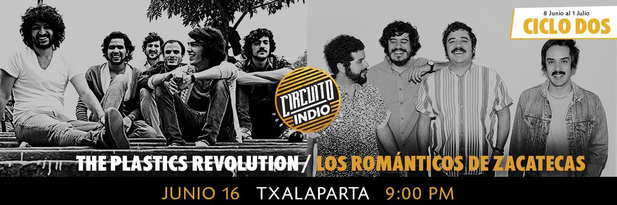 THE PLASTICS REVOLUTION / LOS ROMANTICOS DE ZACATECAS