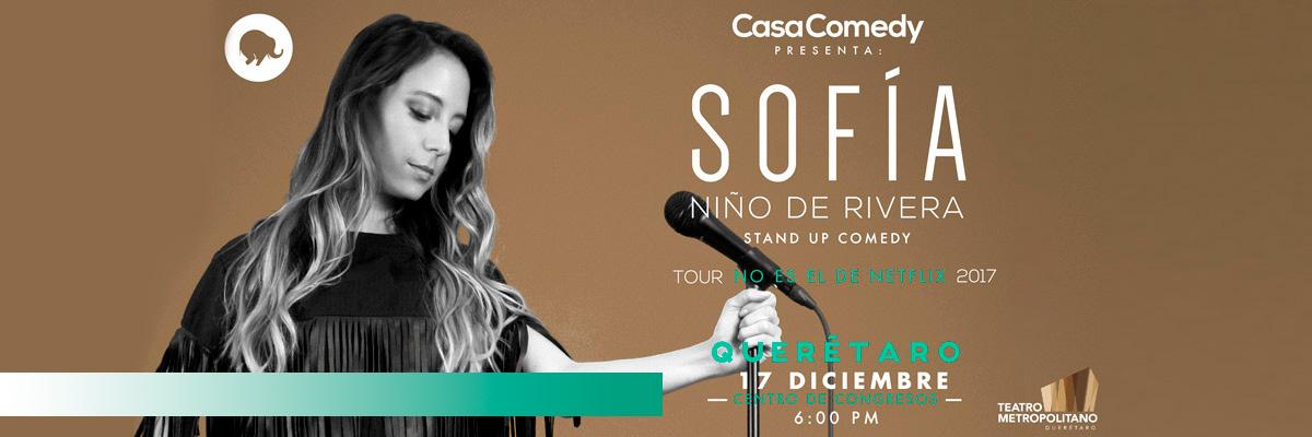 SOFIA NIÑO DE RIVERA. NO ES EL DE NETFLIX