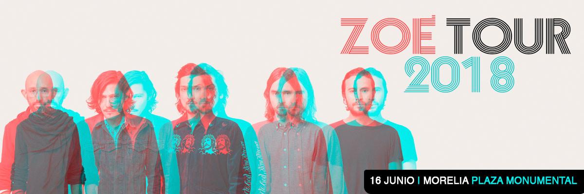 ZOÉ TOUR 2018