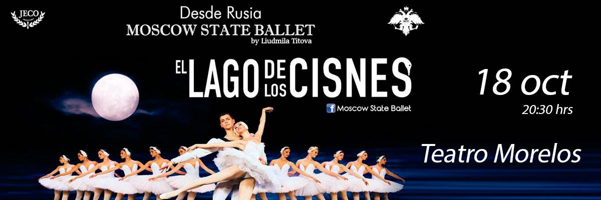 MOSCOW STATE BALLET - EL LAGO DE LOS CISNES
