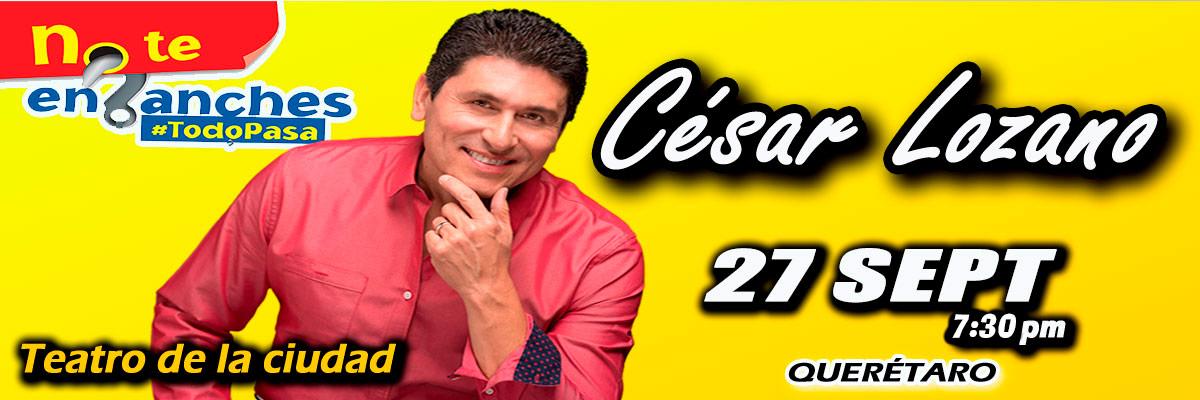 CESAR LOZANO - NO TE ENGANCHES TODO PASA