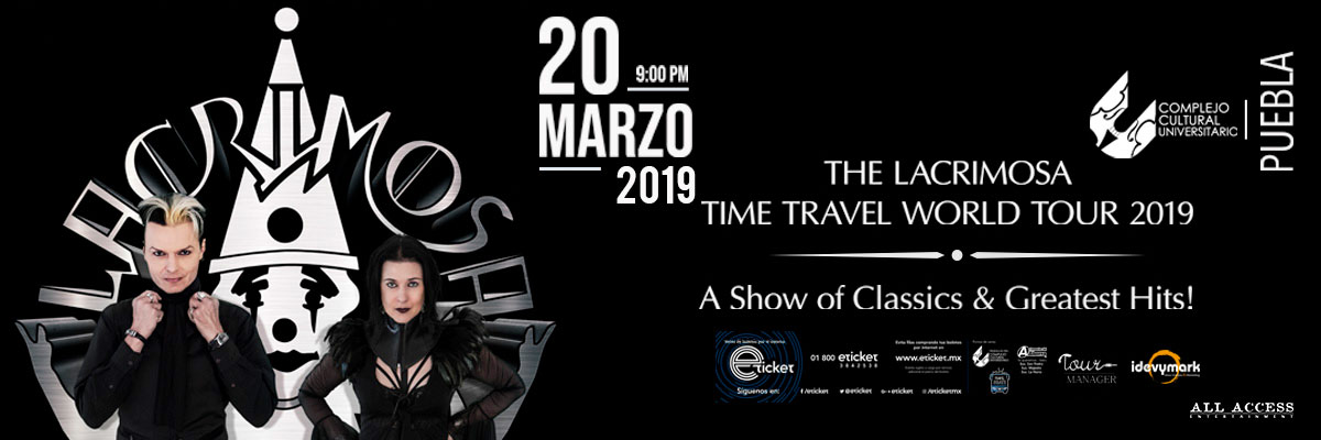 LACRIMOSA - TIME TRAVEL WORLD TOUR 2019 - GALERIA