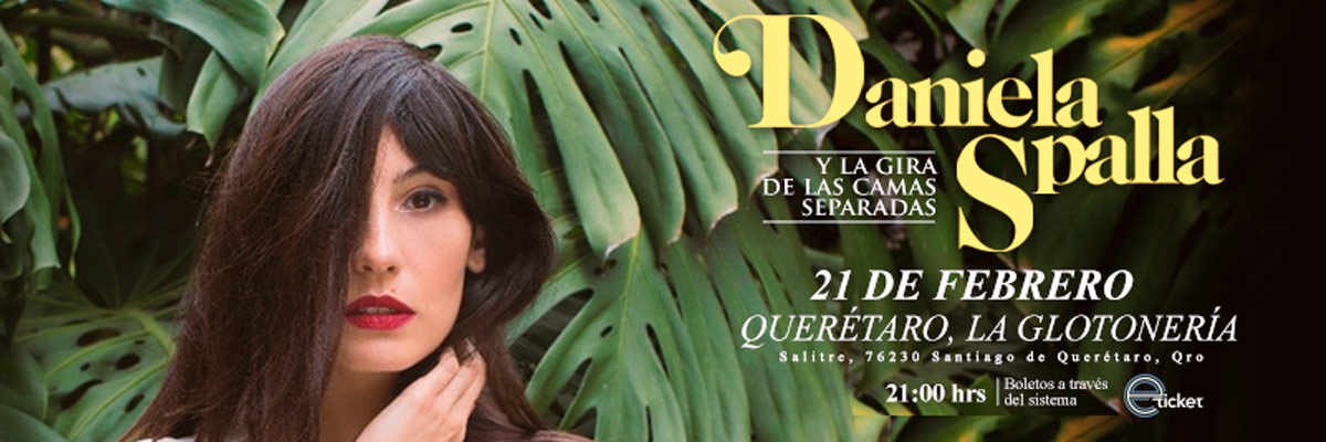 DANIELA SPALLA - MEET & GREET + BOLETO GENERAL