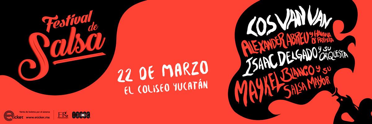 1ER FESTIVAL DE SALSA CUBANA EN MÉXICO