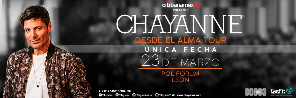 CHAYANNE - ATENCIONES ESPECIALES - ESPECIAL LATERAL - VIP CENTRAL