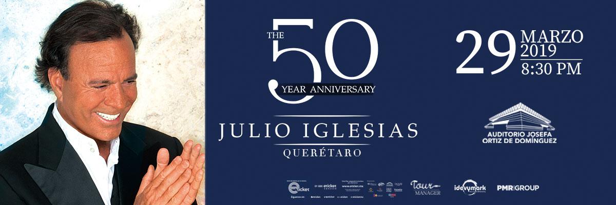 JULIO IGLESIAS - THE 50 YEAR ANNIVERSARY