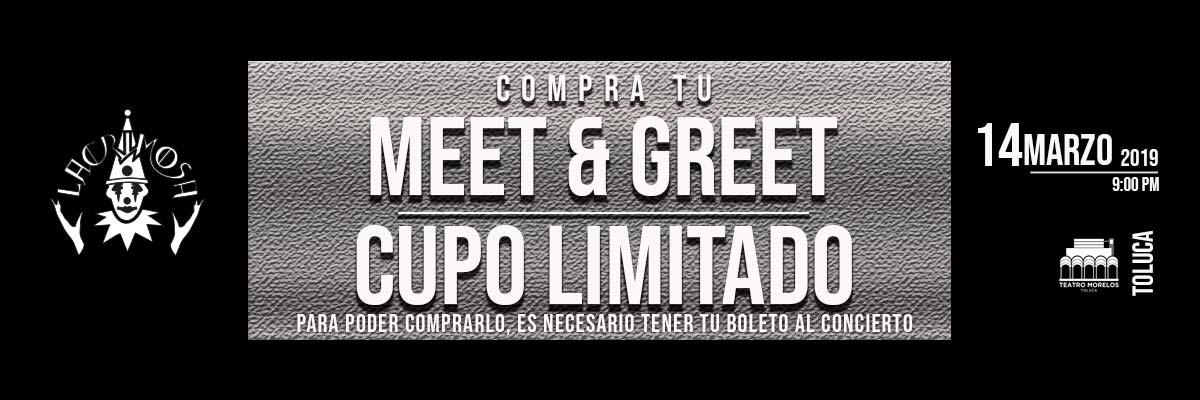 LACRIMOSA - TIME TRAVEL WORLD TOUR 2019 - MEET & GREET