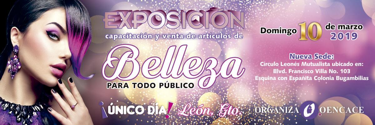 EXPOSICIÓN, CAPACITACIÓN Y VENTA DE ARTÍCULOS DE BELLEZA