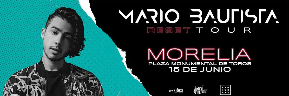 MARIO BAUTISTA RESET TOUR MORELIA