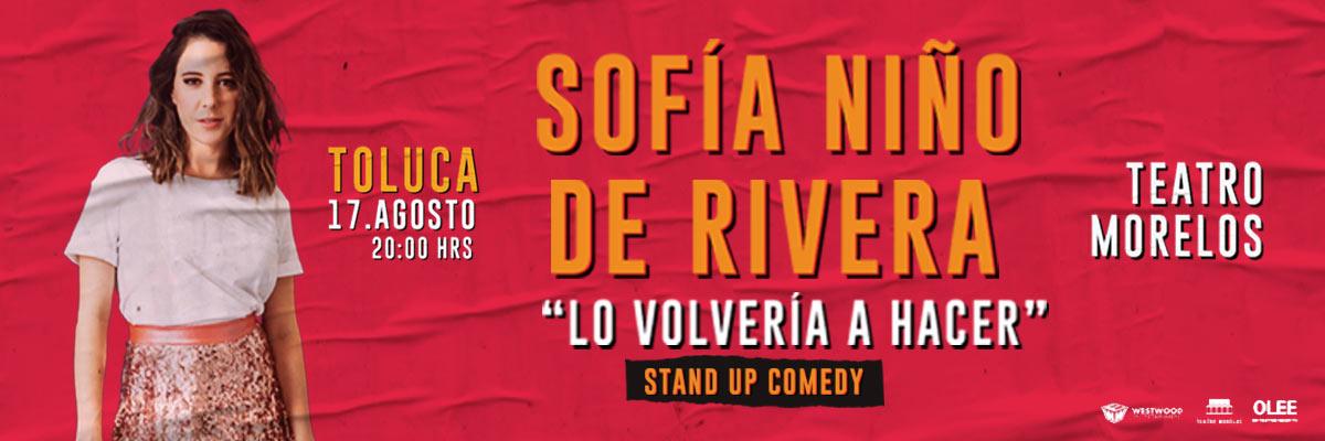 SOFÍA NIÑO DE RIVERA - LO VOLVERÍA HACER