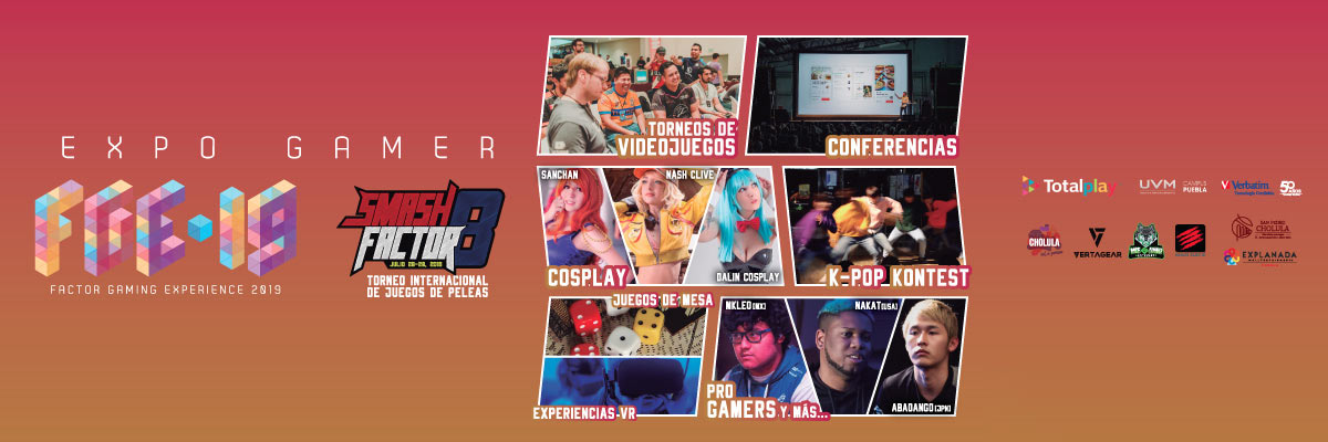 FACTOR GAMING EXPERIENCE 2019