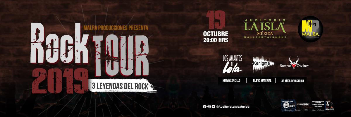 ROCK TOUR 2019 - 3 LEYENDAS DEL ROCK