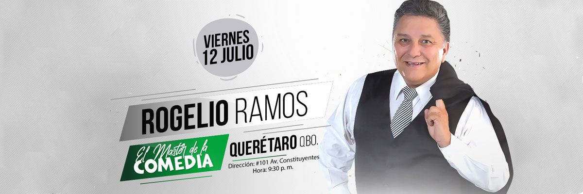 ROGELIO RAMOS - EL MASTER DE LA COMEDIA