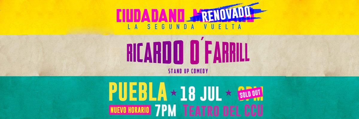 RICARDO O FARRILL - CIUDADANO MEXICANO