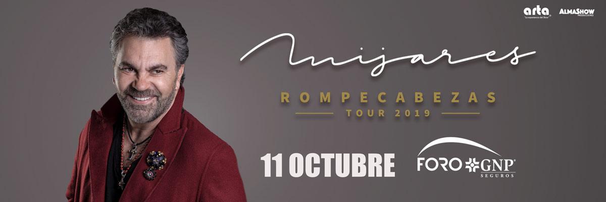 MIJARES - ROMPECABEZAS TOUR 2019