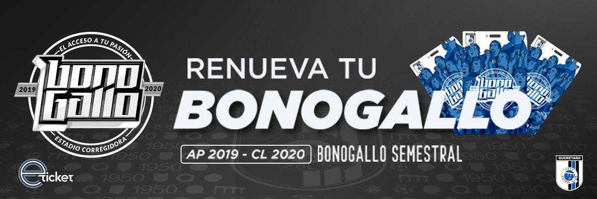BONO GALLO APERTURA 2019