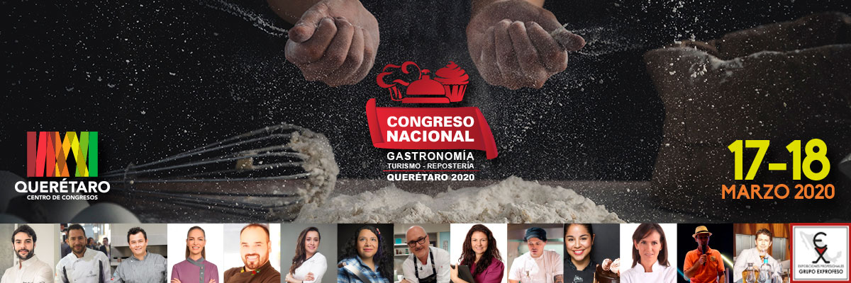 CONGRESO NACIONAL DE GASTRONOMÍA TURISMO Y REPOSTERÍA - 2 DÍAS