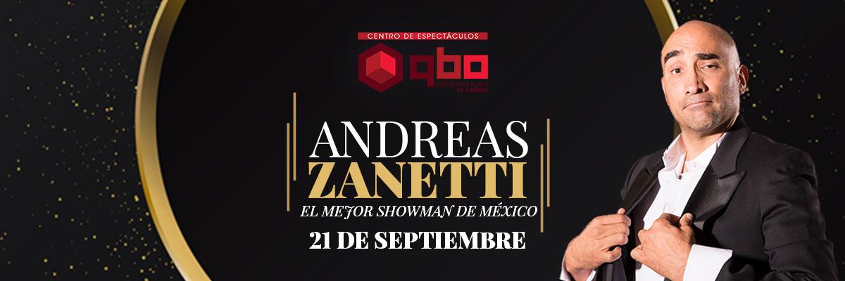 ANDREAS ZANETTI - EL MEJOR SHOWMAN DE MÉXICO