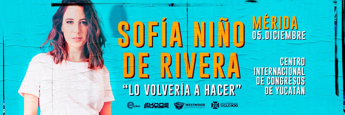 SOFÍA NIÑO DE RIVERA - LO VOLVERÍA A HACER