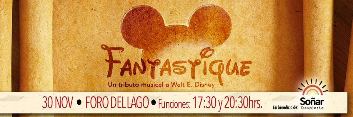 FANTASTIQUE, TRIBUTO MUSICAL A WALTER ELÍAS DISNEY - M&G ESTRELLA AZUL