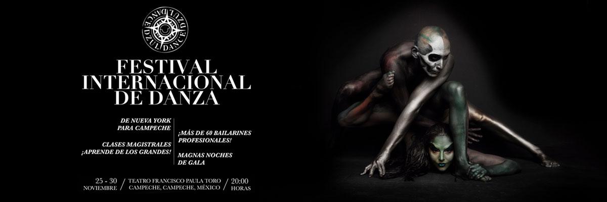 DZUL FESTIVAL INTERNACIONAL DE DANZA - BONO