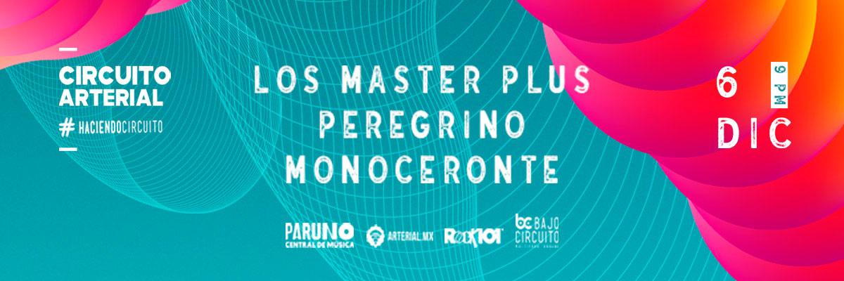 CIRCUITO ARTERIAL - LOS MASTER PLUS + PEREGRINO + MONOCERONTE