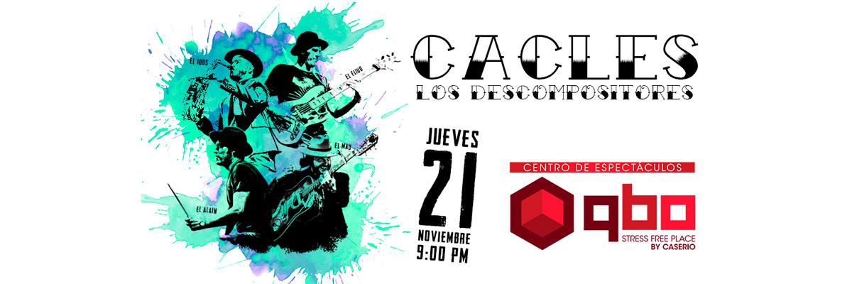 LOS CACLES . LOS MEJORES DESCOMPOSITORES DE MÉXICO