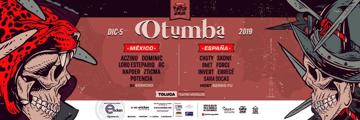 BATTLE LEAGUE MÉXICO - OTUMBA - M&G + FAN PACK