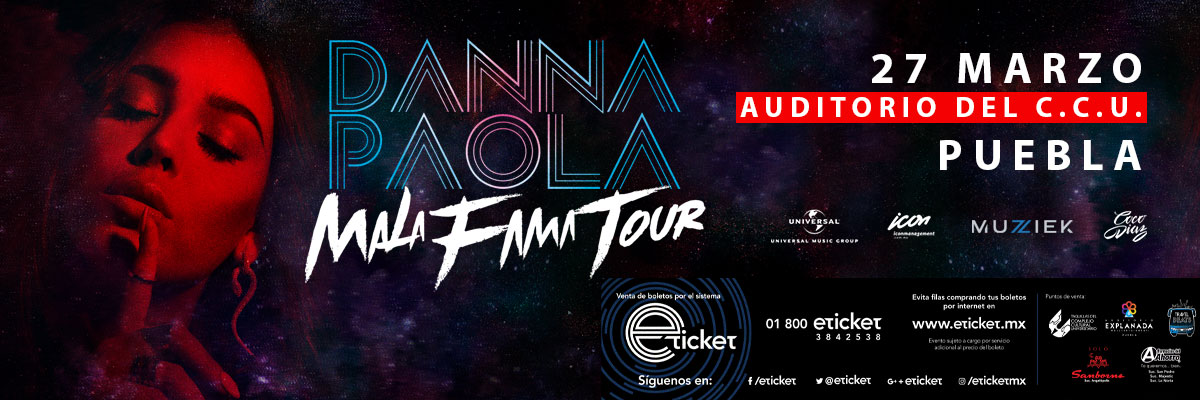 DANNA PAOLA MALA FAMA TOUR