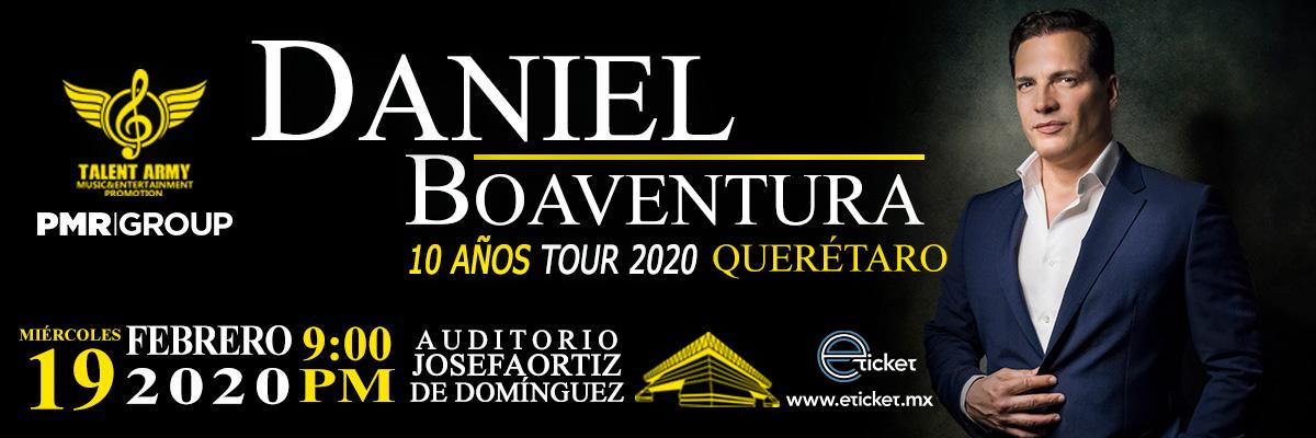 DANIEL BOAVENTURA - 10 AÑOS TOUR 2020